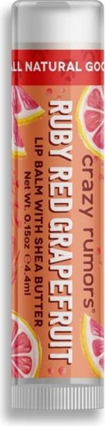 CRAZY RUMORS Ruby Red Grapefruit Lippenbalsam / Lip Balm