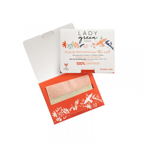 Lady Green  - Kosmetisches Löschpapier / Blotting Paper