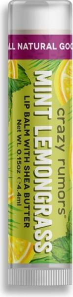 CRAZY RUMORS Mint Lemongrass Lippenbalsam / Lip Balm