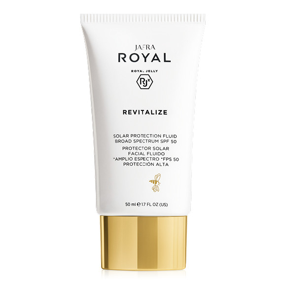 JAFRA ROYAL Revitalize - Sonnenschutz Fluid / Solar Protection Fluid Broad Spectrum SPF 50 - 50 ml
