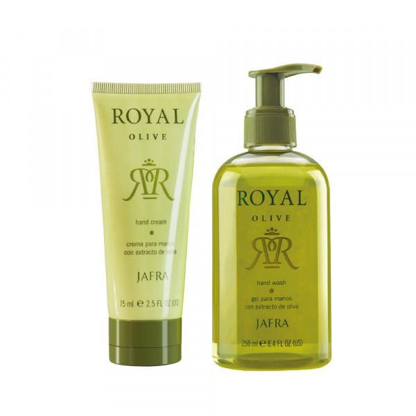 Royal Olive Hand Set - 2 Produkte Fix