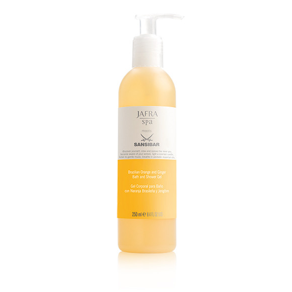 JAFRA SPA - Brazilian Orange u. Ingwer Bade- und Duschgel, Orange and Ginger Bath /Shower Gel