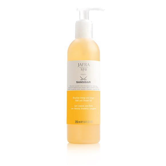 JAFRA SPA - Brazilian Orange u. Ingwer Bade- und Duschgel, Orange and Ginger Bath /Shower Gel