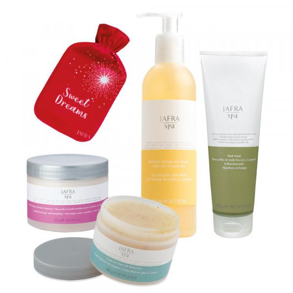 SPA Christmas Set Deluxe  - 4 Produkte + Wärmflasche geschenkt