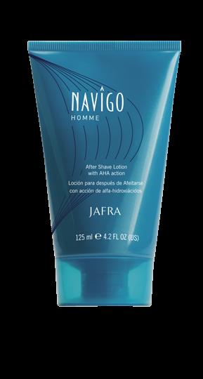 Navigo After Shave Lotion mit Fruchtsäure-Wirkung (AHA)