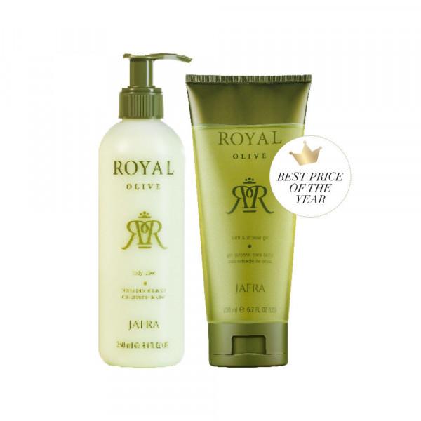 Royal Olive Body Set - 2 Produkte Fix