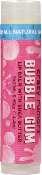 CRAZY RUMORS Bubble Gum Lippenbalsam / Lip Balm