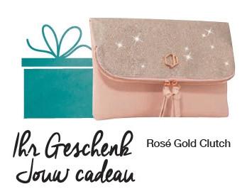 Rosé Gold Clutch