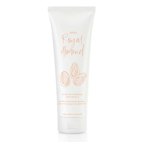 Royal Almond Feuchtigkeitscreme für die Dusche mit Vitamin E / In-Shower Moisturizer