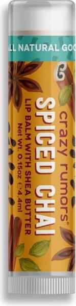 CRAZY RUMORS Spiced Chai Lippenbalsam / Lip Balm