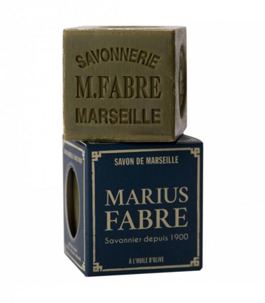 """Marius Fabre -Marseille Olivenseifen """"Nature"""" in Würfelform"""