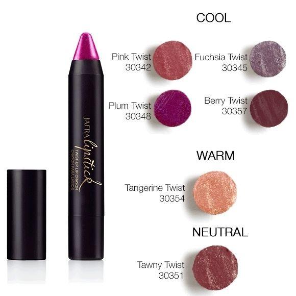 JAFRA Twist-Up Lippenfarbe - Ein Hauch von Farbe