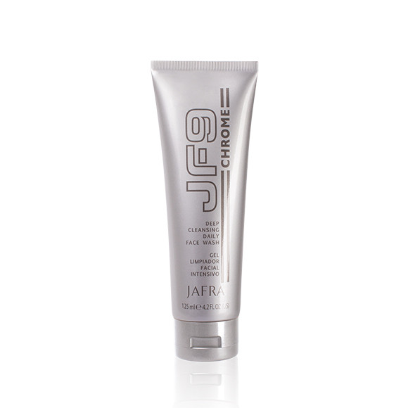 JAFRA JF9 Chrome - Intensive Gesichtsreinigung / Deep Cleansing Daily Face Wash- 125 ml