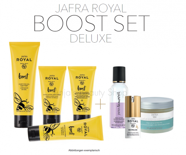 JAFRA ROYAL Boost DELUXE Set - 7 Produkte