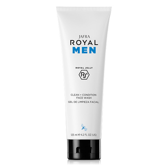 ROYAL Men Gesichtsreinigung mit Royal Jelly RJX- Clean + Condition Face Wash