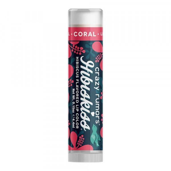CRAZY RUMORS Hibiskiss Lippenpflege plus Farbe - Farbton Coral