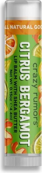 CRAZY RUMORS Citrus Bergamot Lippenbalsam / Lip Balm