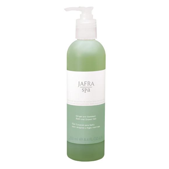 JAFRA SPA - Ingwer und Algen Bade- und Duschgel - Ginger and Seaweed Bath and Shower Gel -250 ml
