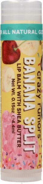 CRAZY RUMORS Banana Split Lippenbalsam / Lip Balm