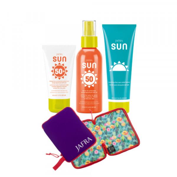 Paradise Set - 3 Produkte + 2in1 Bikinitasche geschenkt