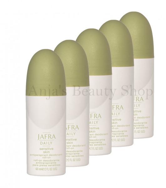 5er Set - Antiperspirant Deodorant Roll-on für Sensible Haut